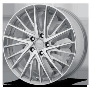 KMC Wheels KM697 Newton 5 Silver Machined