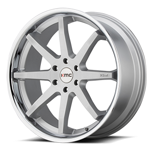 KMC Wheels KM715 Reverb 5 Brushed Chrome Lip