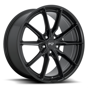 M238 - Rainier Matte Black 5 lug