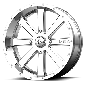 MSA Offroad Wheels M34 Flash 4 Chrome