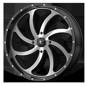 MSA Offroad Wheels M36 Switch 4 Machined Gloss Black