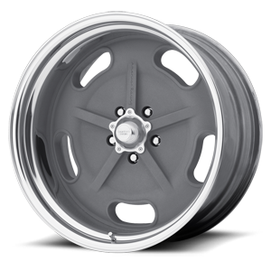 American Racing Custom Wheels VN470 Salt Flat Special 5 Mag Gray w/ Center Polished Barrel