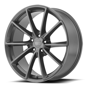American Racing Custom Wheels VN806 Fastback 5 Anthracite w/ Machined Face