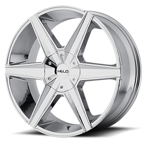 Helo Wheels HE887 6 Chrome