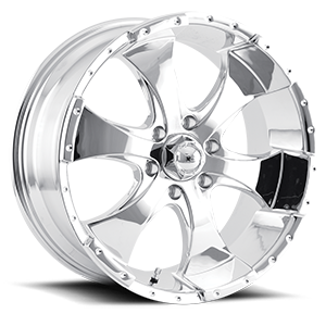 Ion Alloy Wheels 136 6 Chrome