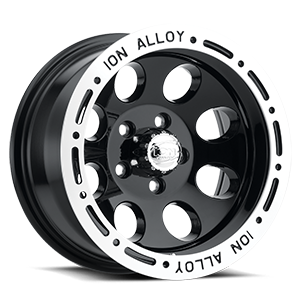 Ion Alloy Wheels 174 5 Black Machined