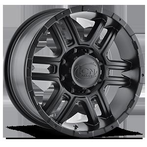 Ion Alloy Wheels 179 8 Matte Black