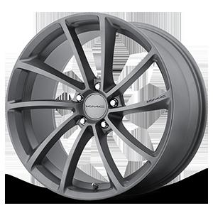 KM691 Spin Gunmetal 5 lug