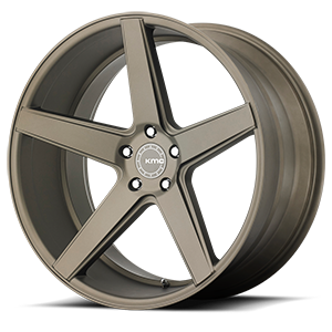 KMC Wheels KM685 District 5 Matte Bronze