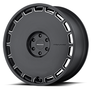 KM689 Skillet Satin Black Milled 6 lug