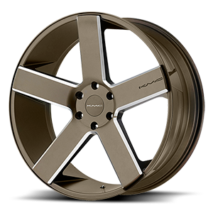 KMC Wheels KM690 MC 5 6 Matte Bronze