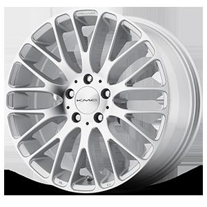 KMC Wheels KM693 Maze 5 Silver w/ Machined Face