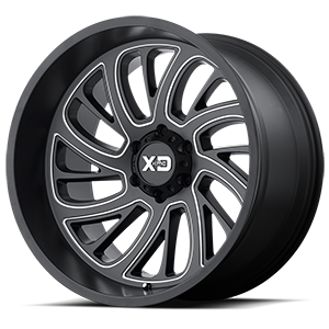 XD Series by KMC XD826 Surge 6 Satin Black Milled