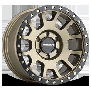 Mayhem Wheels 7883 6 Matte Gold