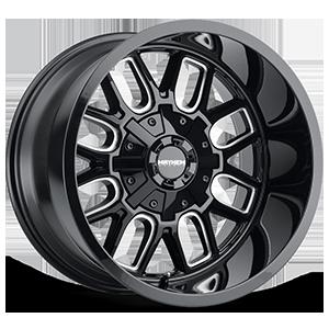 Mayhem Wheels Cogent 6 Gloss Black Milled