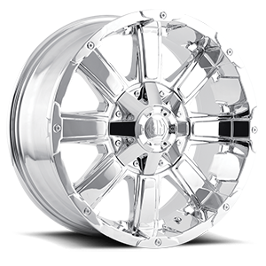 Mayhem Wheels Chaos 6 Chrome