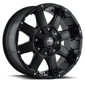 Mayhem Wheels Chaos 8 Matte Black