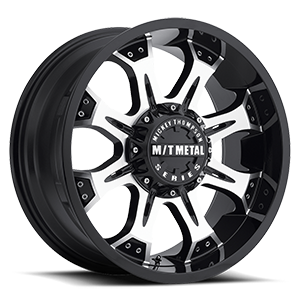 Mickey Thompson 164 8 Machined with Black Lip