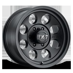 Mickey Thompson Classic III™ Black - 15x10 6 Satin Black w/Clear Coat