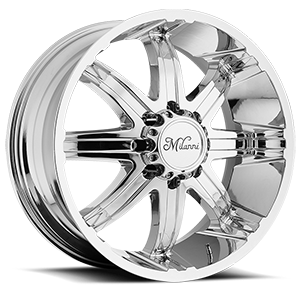 Milanni Wheels 446 Kool Whip 8 8 Chrome