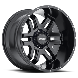 MKW Offroad M93 6 Full Satin Black
