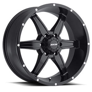 MKW Offroad M89 6 Full Satin Black