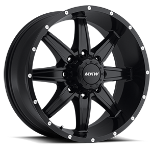 MKW Offroad M89 8 Full Satin Black