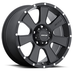 MKW Offroad M90 5 Full Satin Black