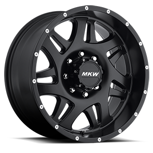 MKW Offroad M91 8 Full Satin Black