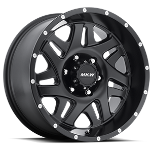 MKW Offroad M91 6 Full Satin Black