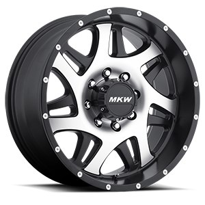 MKW Offroad M91 8 Gloss Black Machined Face