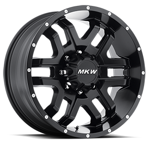MKW Offroad M93 8 Full Satin Black