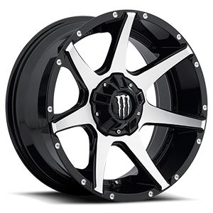 Dropstars Offroad DS647 5 Black Machined