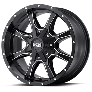 Moto Metal MO970 5 Satin Black Milled
