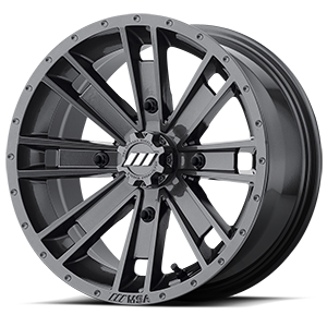 MSA Offroad Wheels M28 Ambush 4 Graphite