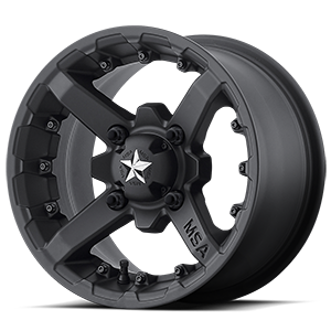 MSA Offroad Wheels M23 Battle 4 Matte Black