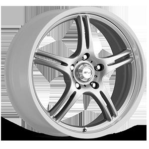 MSR Wheels 044 5 Silver