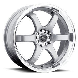 MSR Wheels 065 5 Superfinish with Silver Center