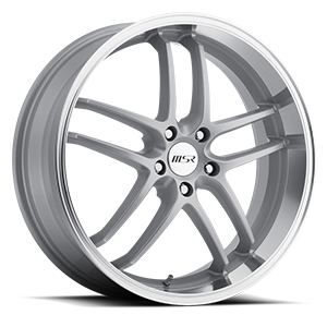 MSR Wheels 085 Redesigned! 5 Superfinish with Silver Center