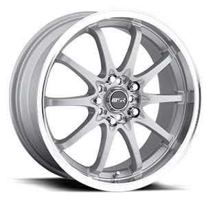 MSR Wheels 092 5 Superfinish with Silver Center