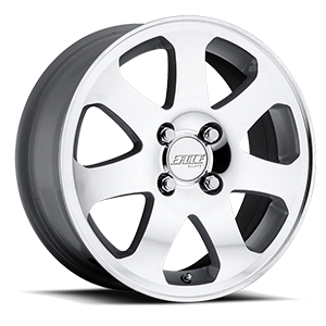 MSR Wheels 104 4 Superfinish with Silver Trim