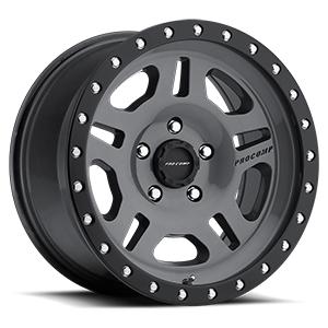 Pro Comp Wheels 29 Series La Paz 5 Gunmetal with Black Lip