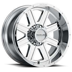 Raceline Wheels 940 Hostage 8 Chrome