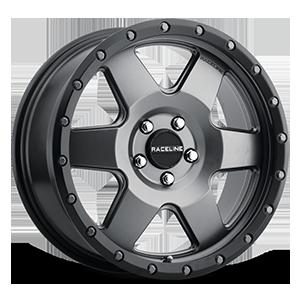 Raceline Wheels 946 Boost 5 Gunmetal