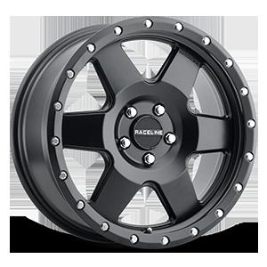 Raceline Wheels 946 Boost 5 Satin Black