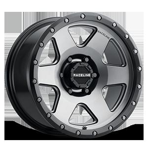 Raceline Wheels 946 Boost 6 Gunmetal