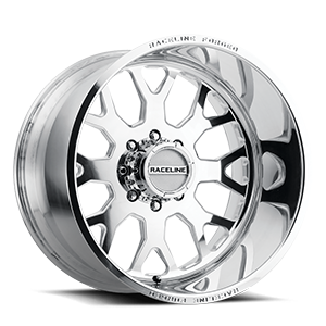 Raceline Wheels RF102 8 Polished
