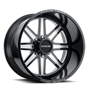 Raceline Wheels RF104 8 Gloss Black Milled