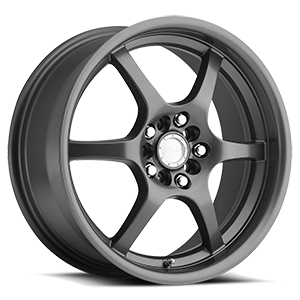 Raceline Wheels 126 5 Gunmetal