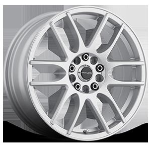 Raceline Wheels 141 Mystique 5 Silver